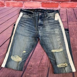 NWT Pac Sun Stacked Skinny Distressed Jean